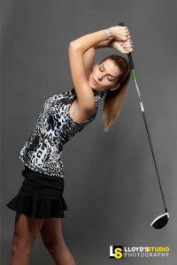Fashion Plus Apparel Photography , Golf Magazine Advert