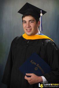 Graduation Portraits , cap and gown photos