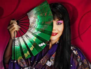 Glamour Plus Pinup Photography, oriental themed pinup portrait Photography south Florida