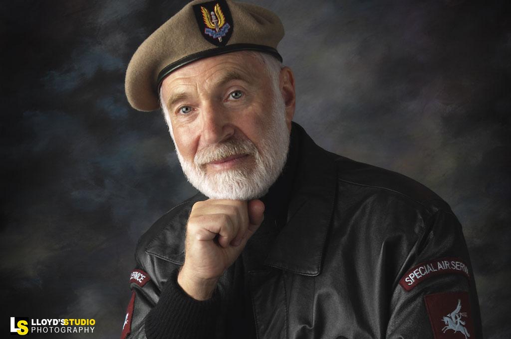 Military Portraits - military promotion portrait - Special Air Services Royal NAVY, Renaissance Man Photo-Shoot