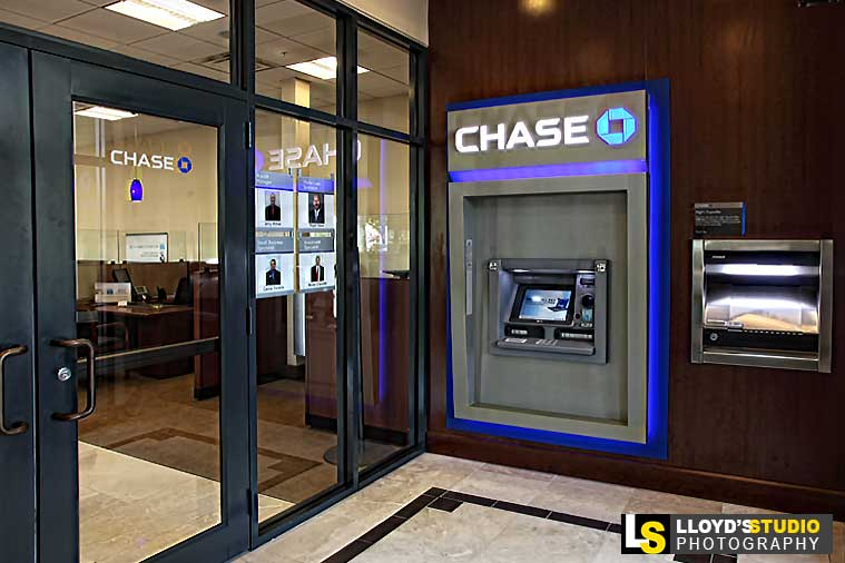 Architectural and Interior Photography, CHASE BANK PHOTO-SHOOT