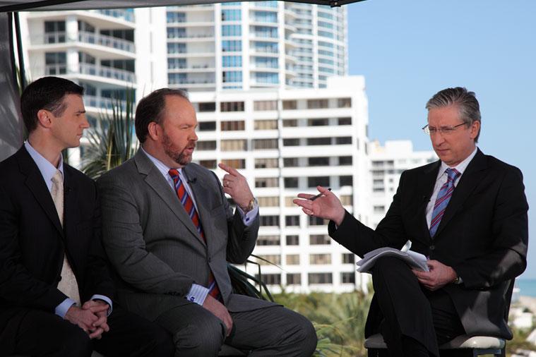 CNBC Anchor Bob Pisani, Corporate Event Photography, Profit Inside Money Secrets at ETFs 2012