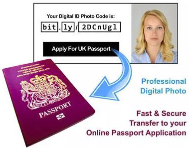 ID Photo Code (IDPC) Service for U K Passport, U K Passport Photo IDPC Photographer